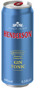 Henderson Gin Tonic 0,33 ltr