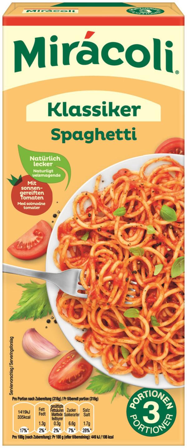Miracoli Klassiker Spaghetti 3 Portionen 380g