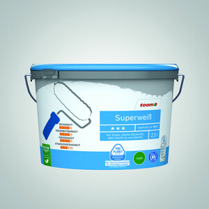 Superweiß 2,5 Liter konservierungsmittelfrei