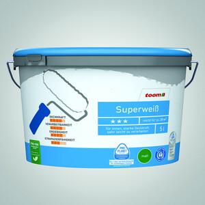 Superweiß 5 Liter konservierungsmittelfrei