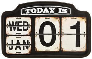 Kalender Chicago in Schwarz