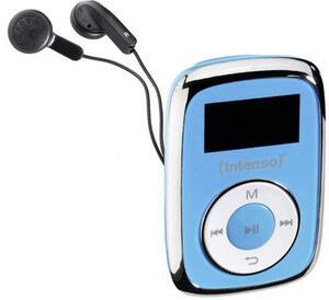 Intenso Music Movers MP3-Player 8GB Blau Befestigungsclip