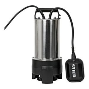 STIER Edelstahl Tauchpumpe-Schmutzwasserpumpe ESTW-1100
