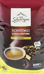 Schweitzers Schüümli Dunkle Röstung Bohnen 500 g