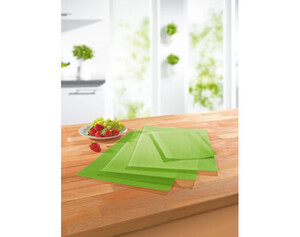 GOURMETmaxx Kühlschrankmatten hellgrün