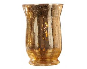 Windlicht Crackle gold ø ca. 14cm