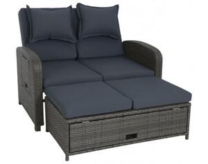 Lounge-Set Bahia dunkelgrau