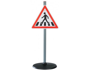 Verkehrsschilder für Kinder 3tlg.