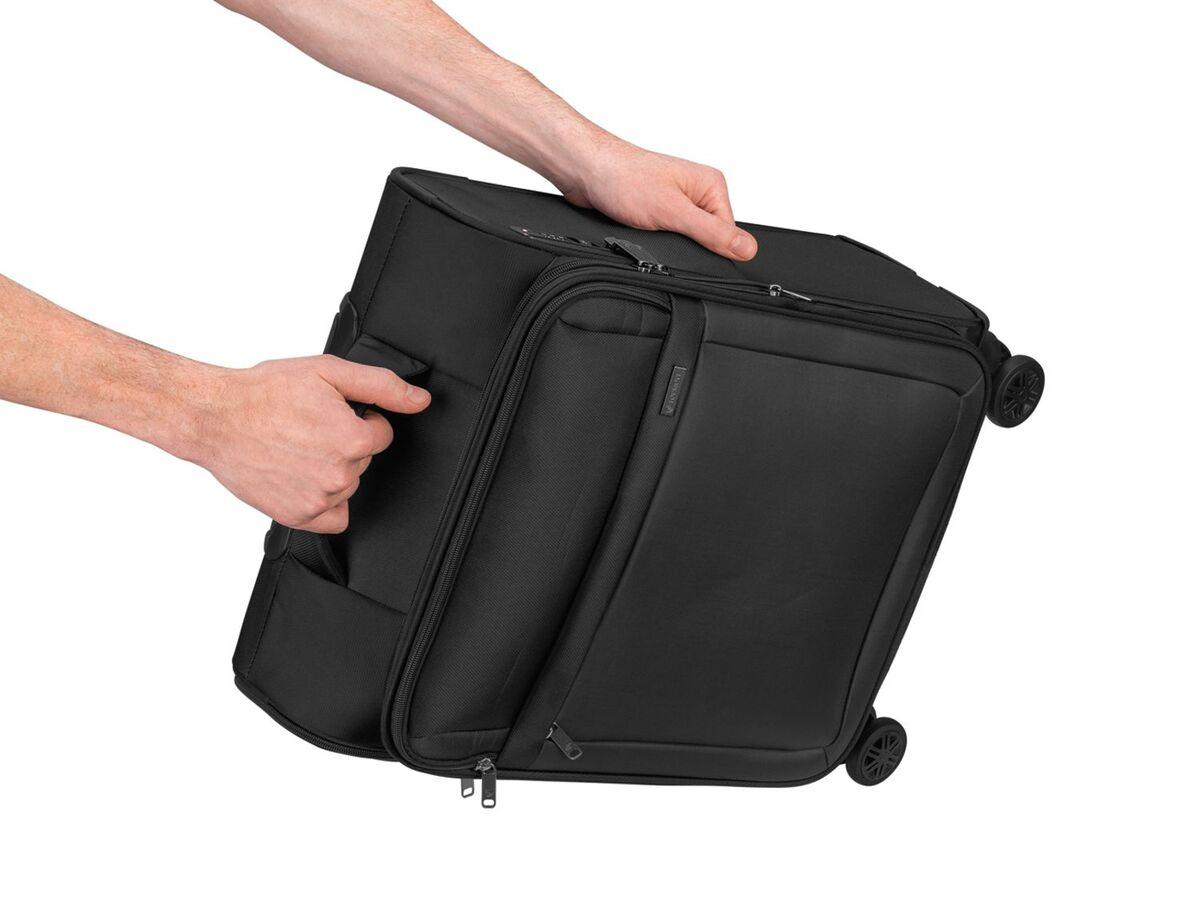 Bild 7 von TOPMOVE® Trolley Koffer, 35 l Volumen, 4 Rollen, mit Zahlenschloss, schwarz