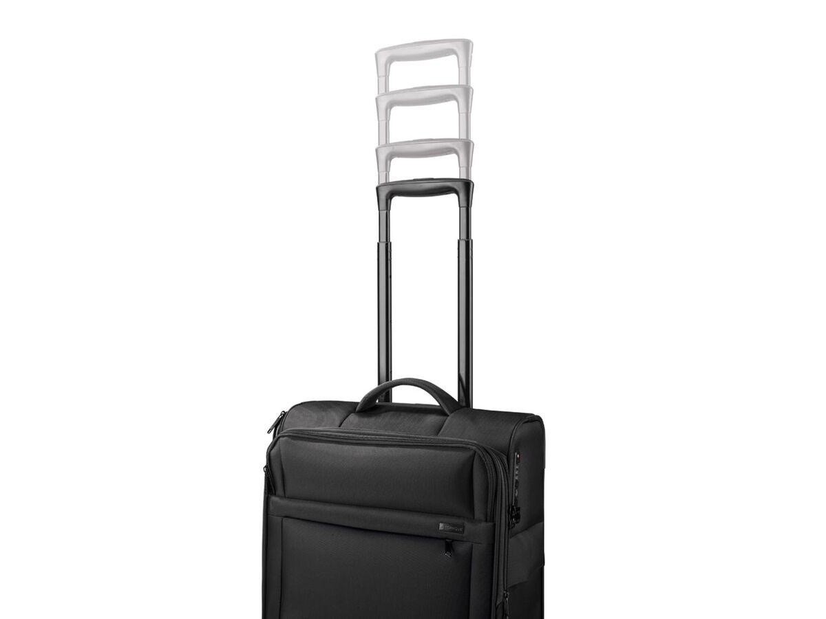 Bild 9 von TOPMOVE® Trolley Koffer, 35 l Volumen, 4 Rollen, mit Zahlenschloss, schwarz