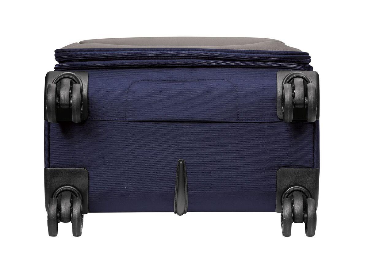 Bild 3 von TOPMOVE® Koffer, 62 l Volumen, 4 Rollen, mit Zahlenschloss, blau/grau