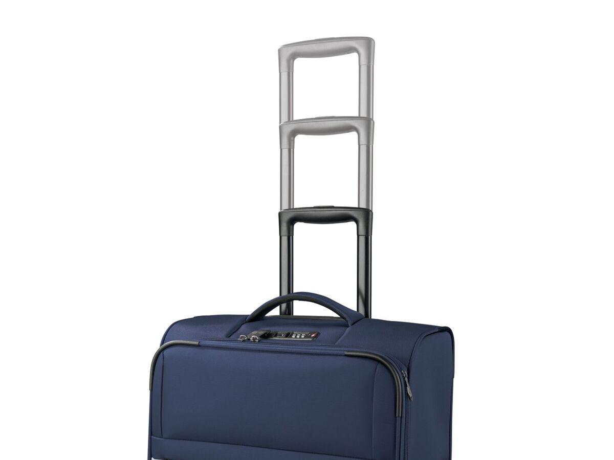 Bild 4 von TOPMOVE® Koffer, 62 l Volumen, 4 Rollen, mit Zahlenschloss, blau/grau