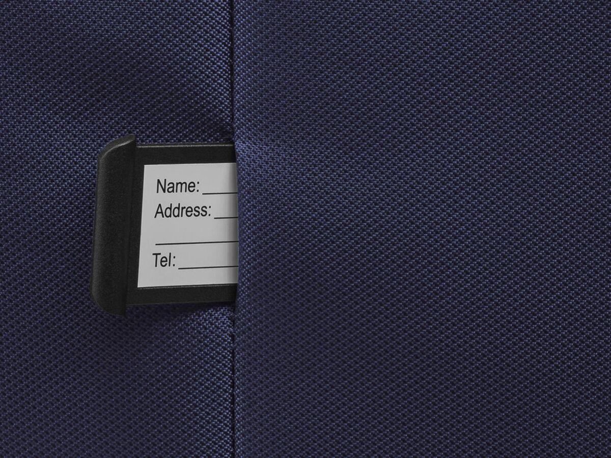 Bild 6 von TOPMOVE® Koffer, 62 l Volumen, 4 Rollen, mit Zahlenschloss, blau/grau