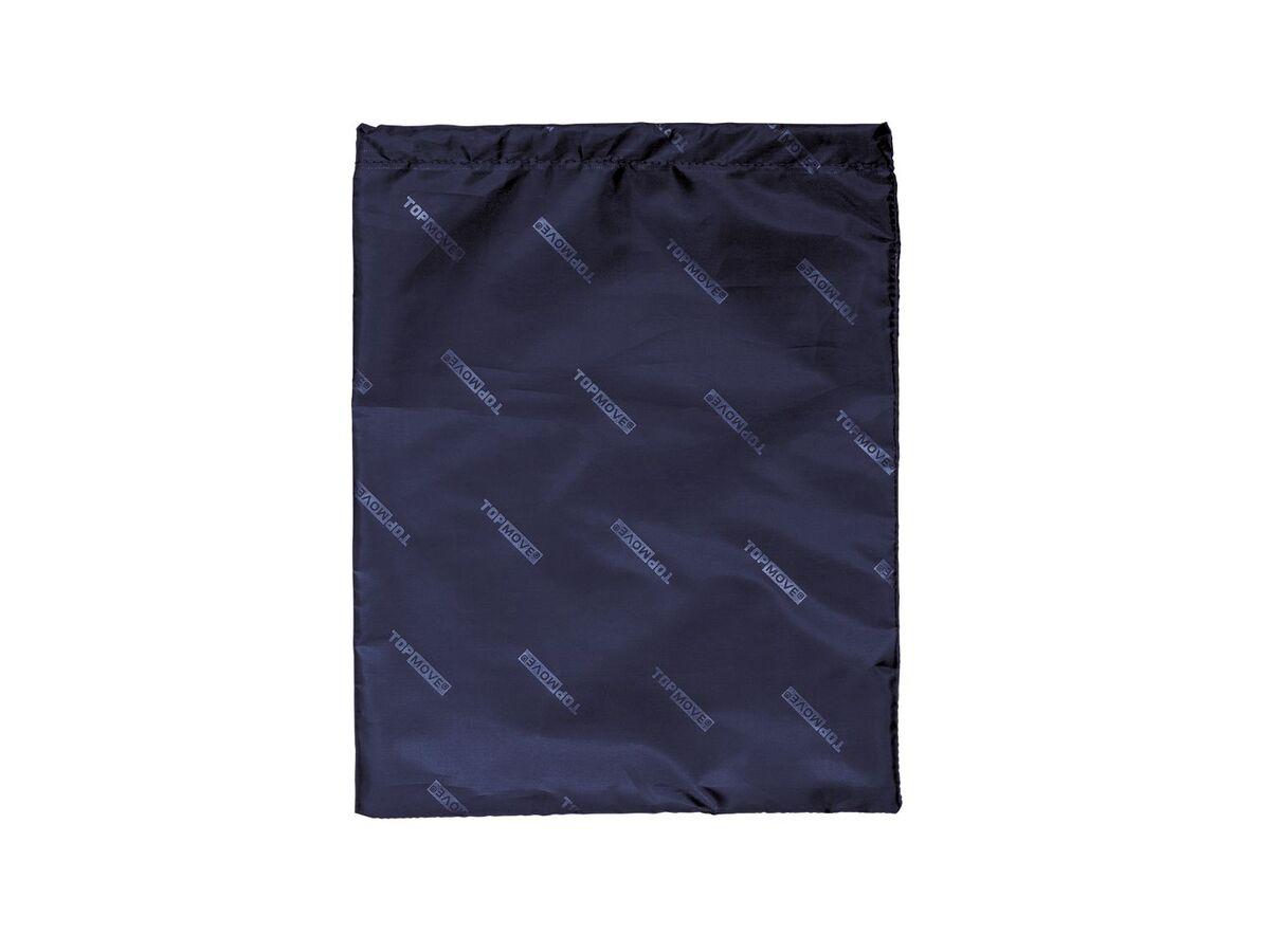 Bild 7 von TOPMOVE® Koffer, 62 l Volumen, 4 Rollen, mit Zahlenschloss, blau/grau