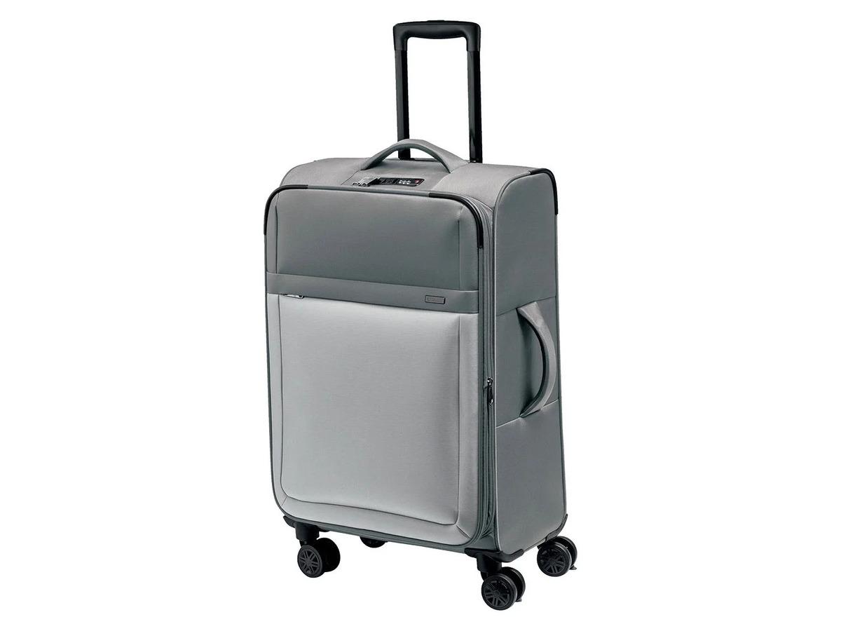 Bild 1 von TOPMOVE® Koffer, 62 l Volumen, 4 Rollen, mit Zahlenschloss, grau