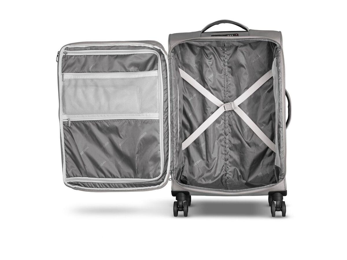 Bild 2 von TOPMOVE® Koffer, 62 l Volumen, 4 Rollen, mit Zahlenschloss, grau