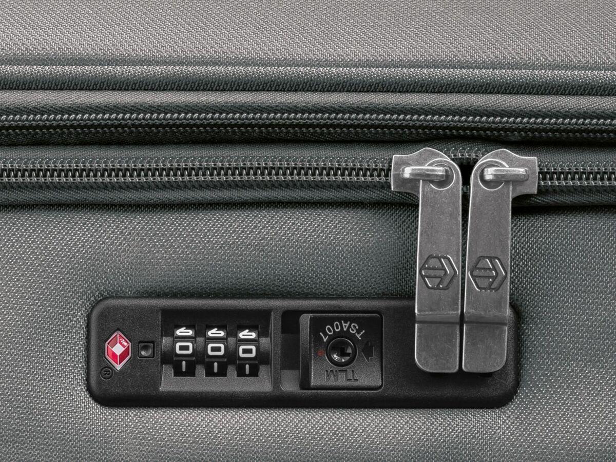 Bild 5 von TOPMOVE® Koffer, 62 l Volumen, 4 Rollen, mit Zahlenschloss, grau