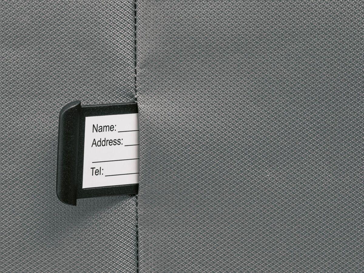 Bild 6 von TOPMOVE® Koffer, 62 l Volumen, 4 Rollen, mit Zahlenschloss, grau