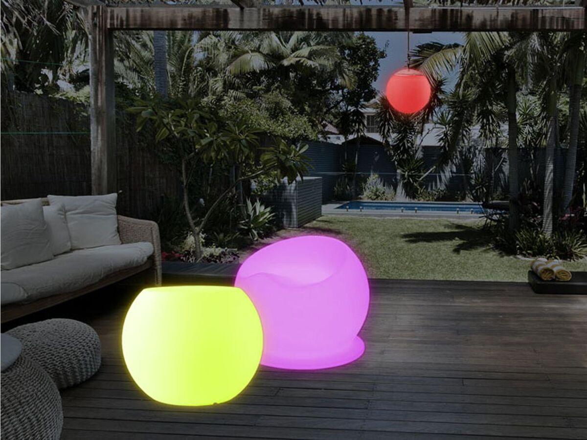 Bild 4 von LIVARNO LUX® Loungesessel, beleuchtet, dimmbar, Farbwechselprogramme, mit Akku