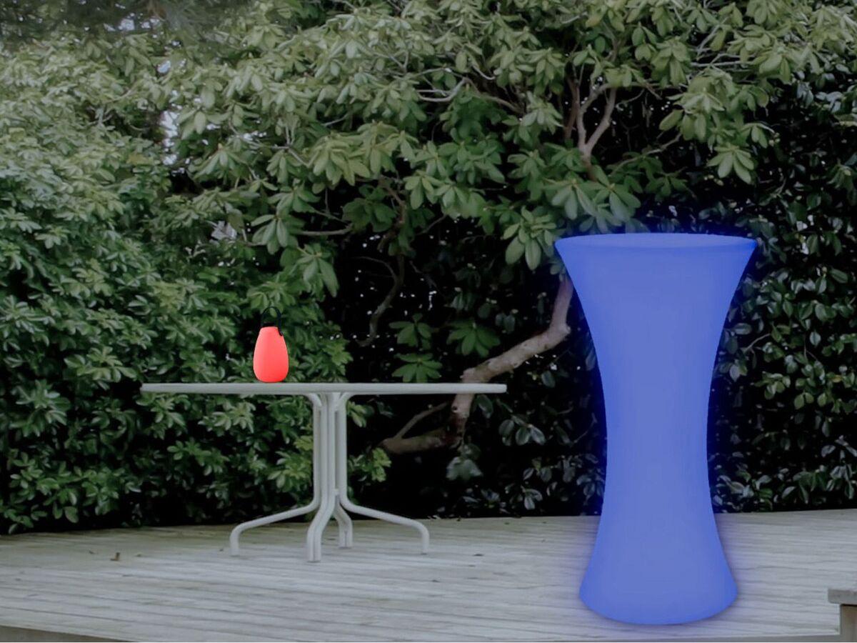 Bild 5 von LIVARNO LUX® Stehtisch, beleuchtet, dimmbar, Farbwechselprogramme, mit Akku, Fernbedienung