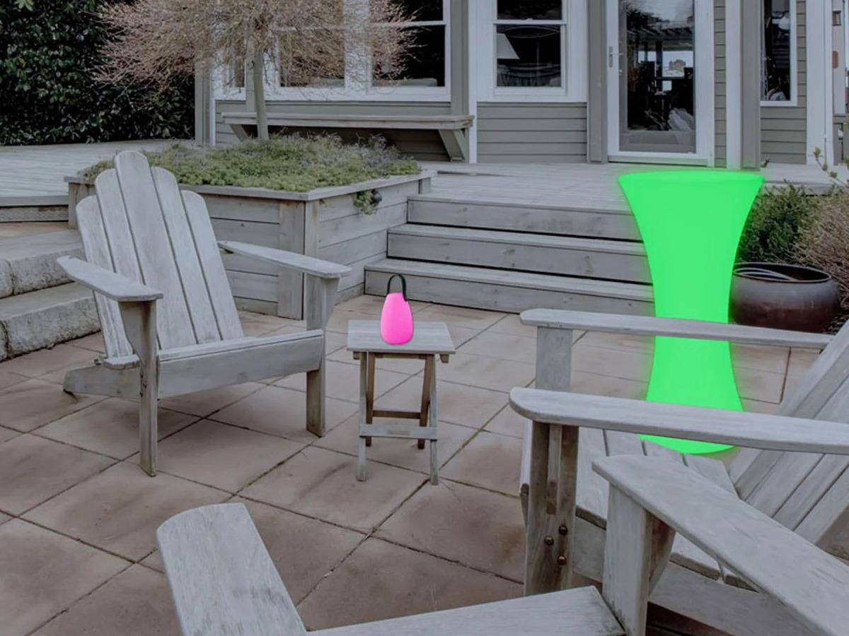 Bild 6 von LIVARNO LUX® Stehtisch, beleuchtet, dimmbar, Farbwechselprogramme, mit Akku, Fernbedienung