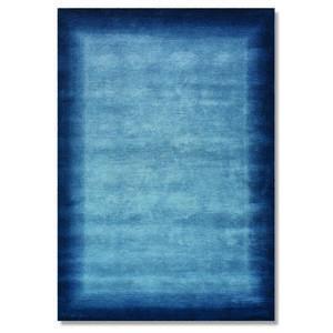 ORIENTTEPPICH 90/160 cm Blau
