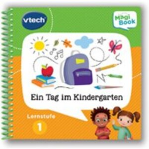 Vtech MagiBook 1 Tag im Kindergarten Lernstufe 1