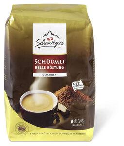Schweitzers Schüümli Helle Röstung gemahlen 500 g