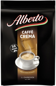 Alberto Caffè Crema Pads 36x 7 g