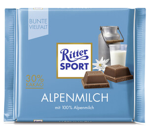 Ritter Sport Alpenmilch 100 g
