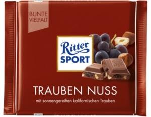 Ritter Sport Trauben Nuss 100 g