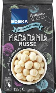EDEKA Macadamias geröstet & gesalzen 125 g