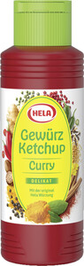 Hela Curry Gewürzketchup Delikat 300 ml