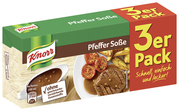 Knorr Pfeffer Soße 3x 23 g