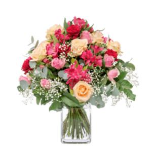 Romantischer Gruß -   Fleurop Blumenversand