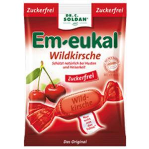 Em-Eukal Wildkirsche Hustenbonbons zuckerfrei 75 g