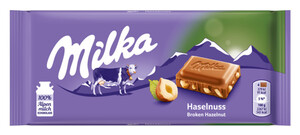 Milka Haselnuss Schokolade 100 g