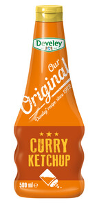 Develey Our Original Curry Ketchup 0,5 ltr