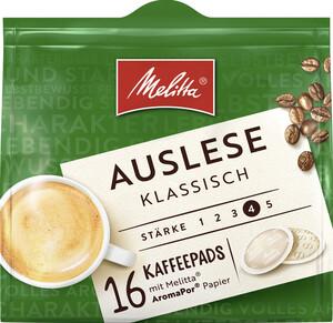 Melitta Auslese Klassisch Kaffeepads 16x 7 g