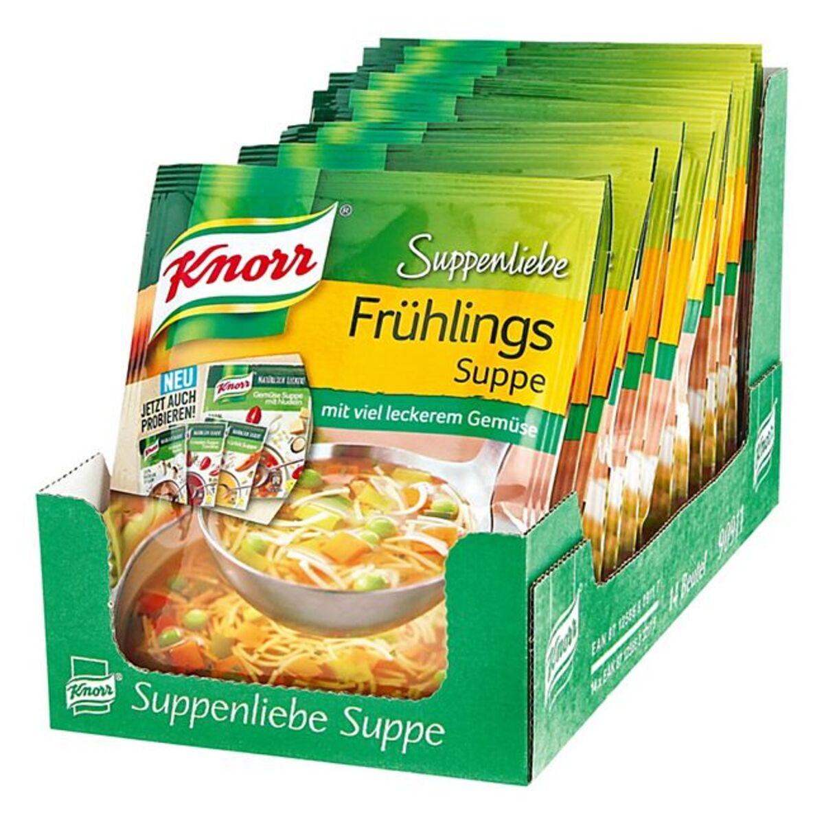 Bild 1 von Knorr Suppenliebe Frühlingssuppe ergibt 0,75 L, 14er Pack