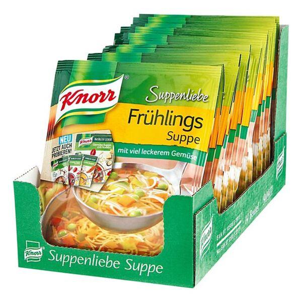 Knorr Suppenliebe Frühlingssuppe ergibt 0,75 L, 14er Pack