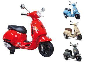 JAMARA Kinder Roller Ride-on »Vespa GTS 125«, Minimotorrad, leistungsstark, ab 3 Jahren