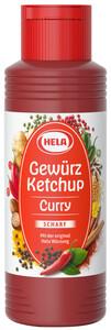 Hela Curry Gewürz Ketchup scharf 300 ml