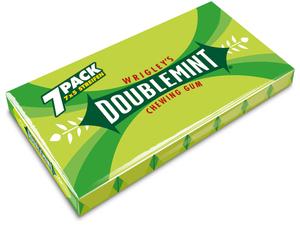 Wrigleys Doublemint 7x 5 Stück