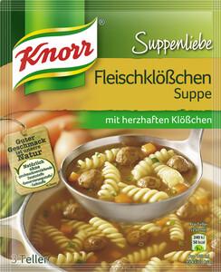Knorr Suppenliebe Fleischklößchen Suppe 48 g