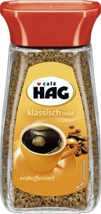 Café HAG klassisch mild entkoffeiniert 100-g-Glas