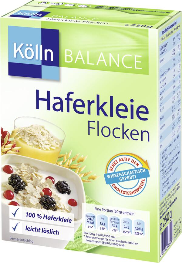 Kölln Balance Haferkleie Flocken 250 g
