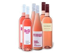 6 x 0,75-l-Flasche Weinpaket Roséweine aus Österreich