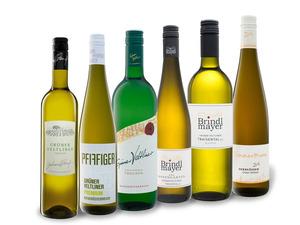 6 x 0,75-l-Flasche Weinpaket Grüner Veltliner aus Österreich