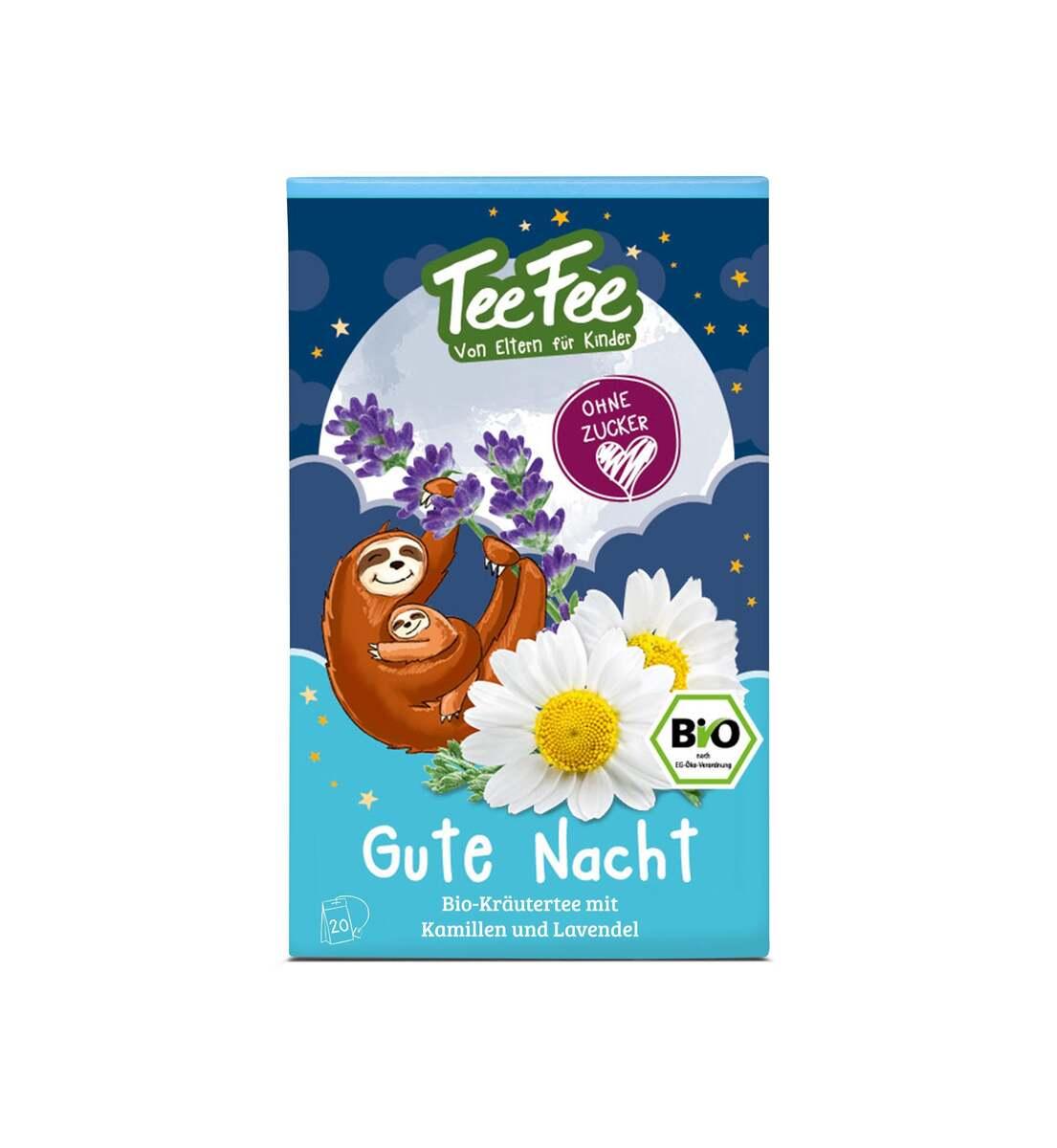Bild 1 von TeeFee Bio Gute Nacht Kräutertee
